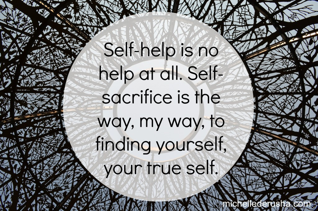 self sacrifice Self-sacrifice is giving up of one's own interests or wishes in order to help others or to advance a cause this is the story of a man who gave up 22 years of his.